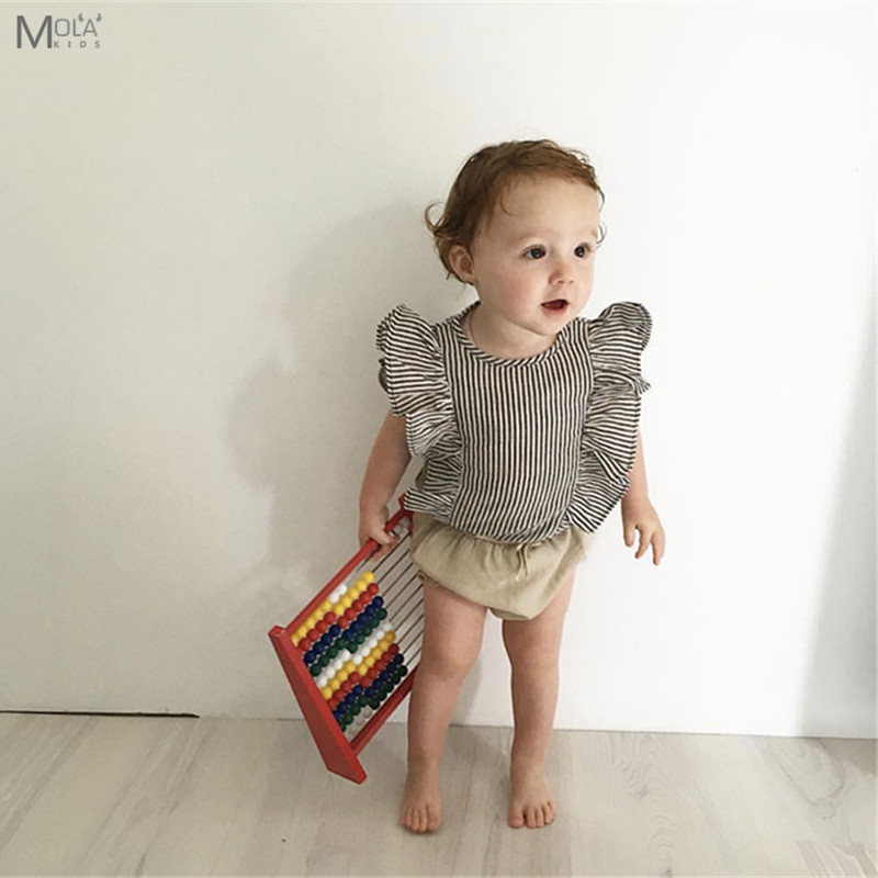 KIKIKIDS Baby Girl Fashion Sets Infant Cute Suits Summer ...