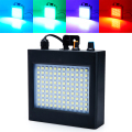 Mini Sound Control Auto 108RGB LED Disco Party DJ Bar Light LED Stroboscope Music Show Projector Stage Lighting Effect Black