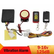 12V Common Moto Vibration Alarm System Distant Management Engine Begin  Motorbike Bike Scooter Burglar Safety Alarm Anti Theft