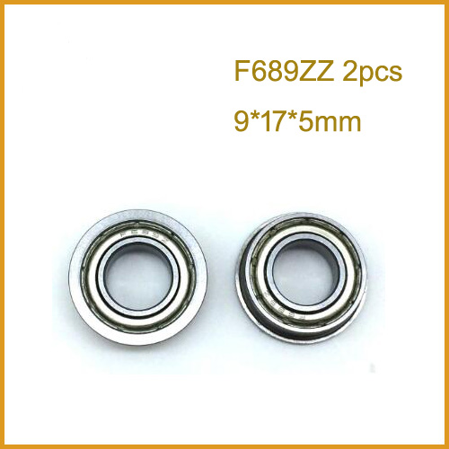 689-zz qualità in metallo schermato CUSCINETTO 9x17x5mm