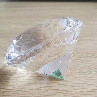 100mm Clear Crystal Diamond Birthday Gift Crystal K9 Glass Diamond For Girlfriend Crystal Big Stones For