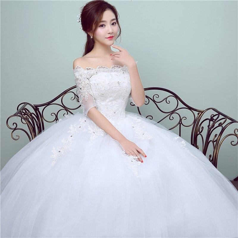 Luxury Wedding Dress 2017 New Arrival Summer Fashion Princess Lace ...