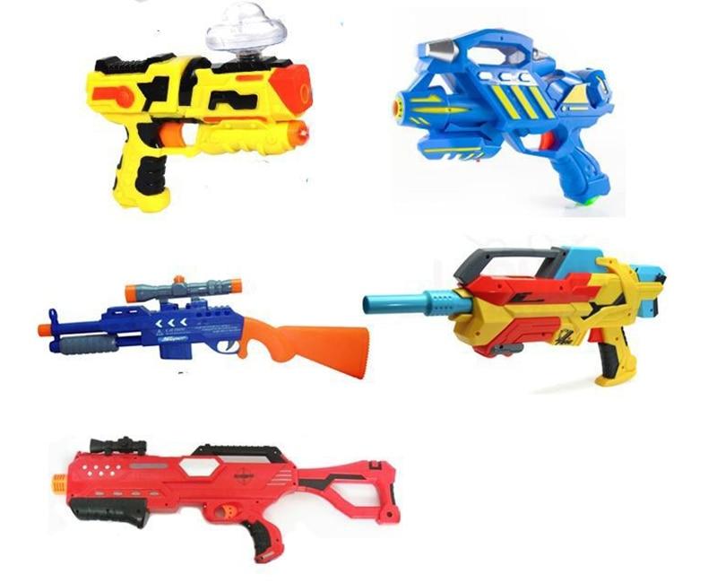 30000pcs Kids colored soft crystal water paintball gun bullet grow water beads grow balls outdoor water gun toys for Children