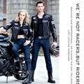 Cool nuevos SFK motocicleta jeans personalidad de la moda pantalones de montar de locomotora boy jeans pantalones motor protectora SKP-702