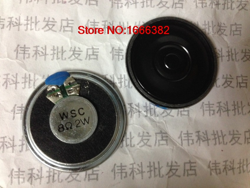 8R2W 2 PCSLOT 2 watts 8 ohms diameter 36 MM 3.6 CM electronic dog speakers ultra