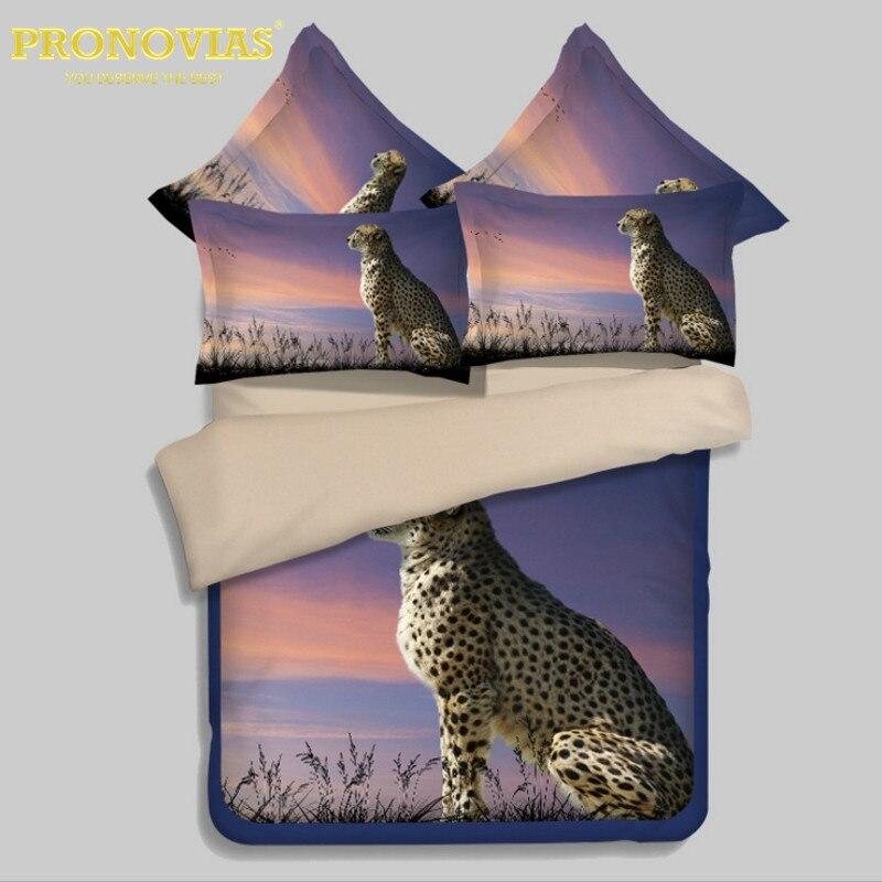 Nuit tendre 3D oiseaux garçons ensemble de literie housse de couette drap de lit taies d'oreiller double taille 3 pièces ensemble de linge de lit - 4