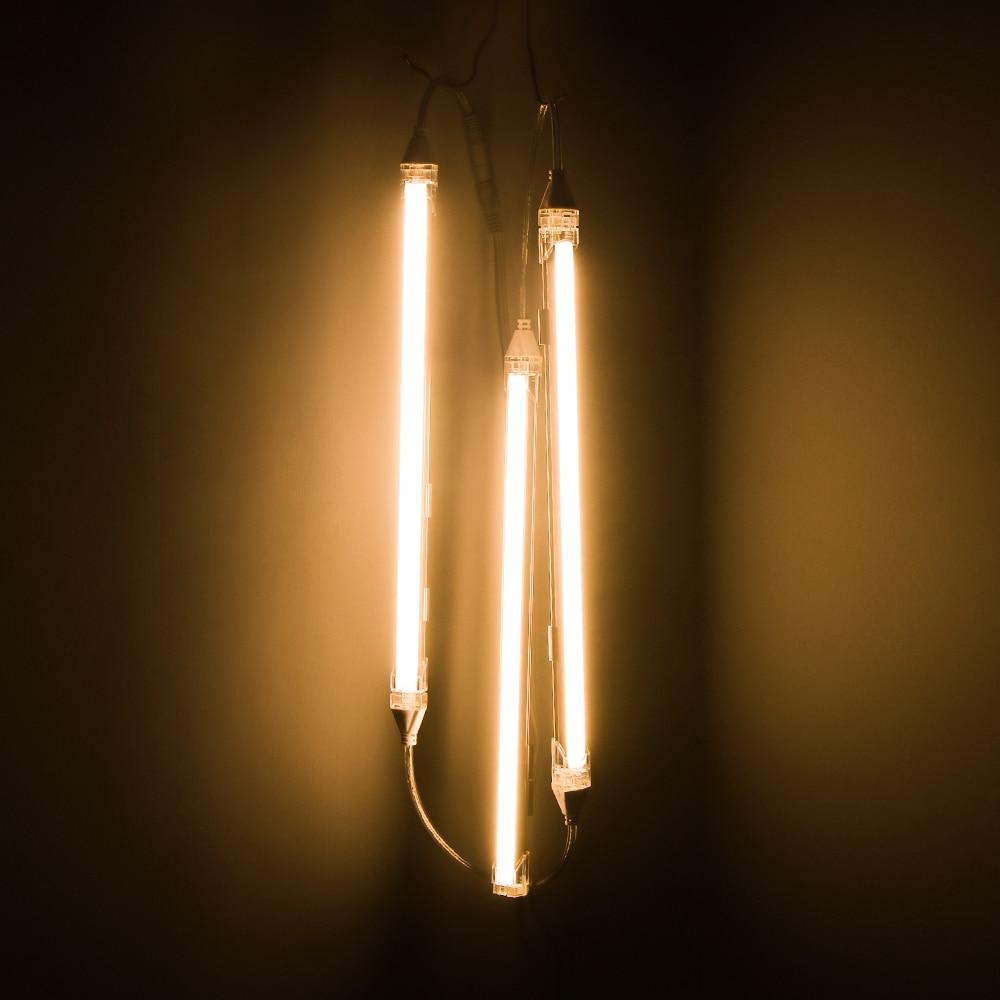 Светодиодный светильник под шкаф, кухонный шкаф, лампа 24 В, светодиодная полоса, барная лампа, зеркало, настольная лампа, настенное освещение