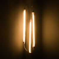 LED Under Cabinet Kitchen Closet Light Lamp 24v LED Strip Bar Lamp Mirror Study Desk Lights Desktop Wall Lighting