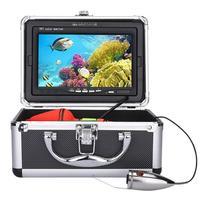 15 м 20 м Водонепроницаемый Рыболокаторы 7in TFT монитор 1000TVL Беспроводной подводный светодиодный Рыбалка Камера рыболовные принадлежности