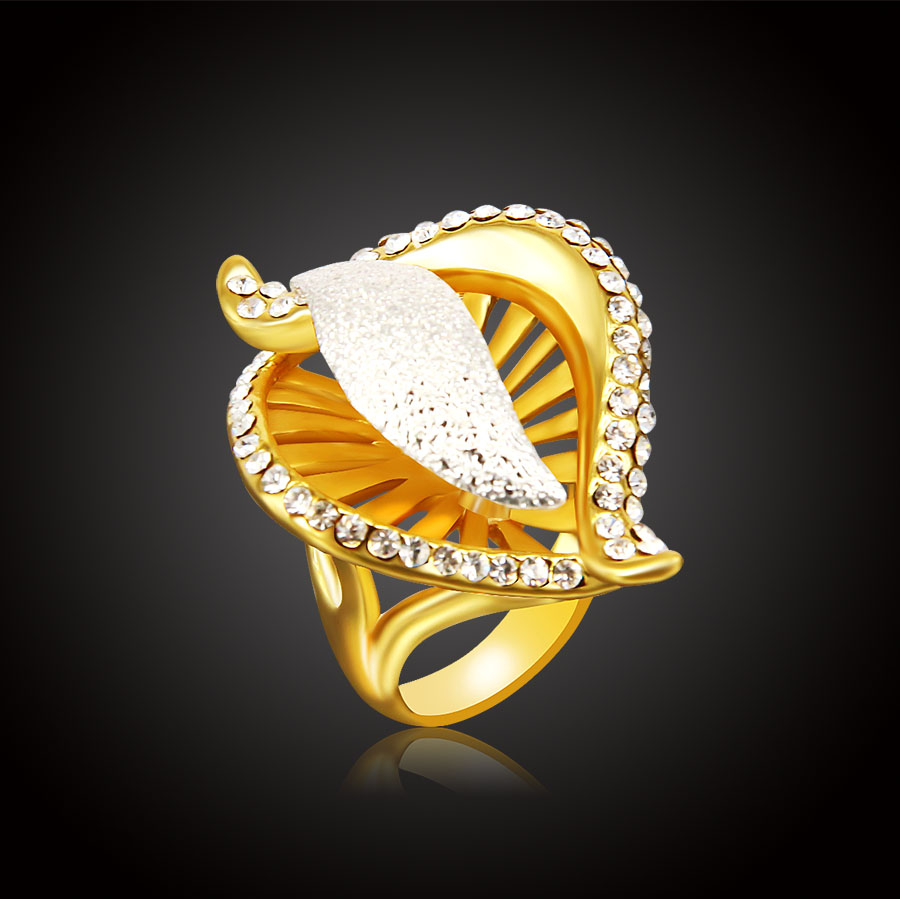 ERLUER Fashion Gold Silver color Classic ringss