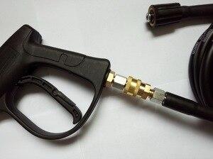Image 5 - Coupleur à dégagement rapide G1/4 avec bouchon pour pistolet à haute pression et tuyau, haute qualité