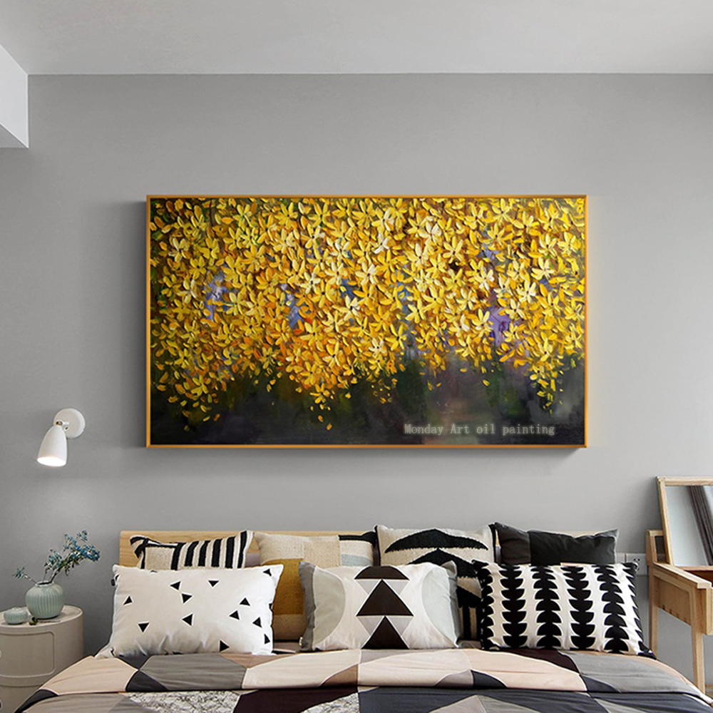 handmade-oil-painting-on-canvas-modern-100-Best-Art-Modern-Abstract-oil-painting-original-directly-from (12)