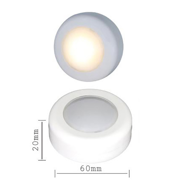 3W Wall Night Light Wireless Dimmable Touch Sensor LED Under Kitchen Cabinets For Kitchen Cabinet Cupboard Light Stair Lights