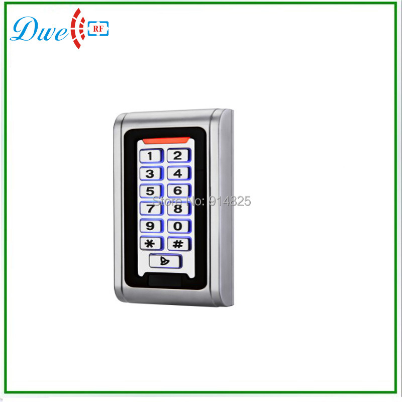 ФОТО free shipping  125khz IP68 silver standalone access controller