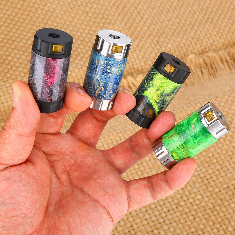 ULTRONER Mini Stick 18350 Mech MOD Stabilized Wood Fit Single 18350 Battery No Battery Semi mech Vape MOD VS Drag 2/Cthulhu Tube-in Electronic Cigarette Kits from Consumer Electronics    1