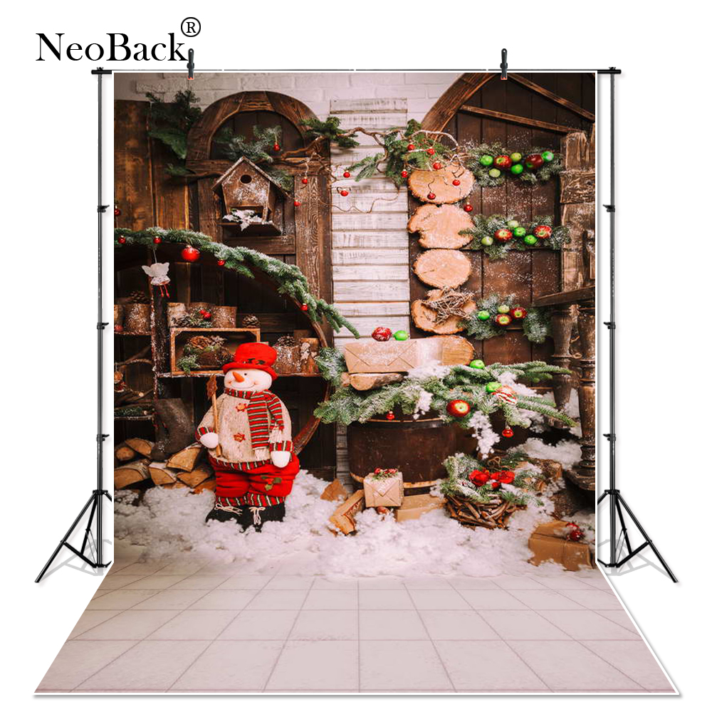 New 5X7ft fast shipping baby Christmas gifts backdrop computer ...