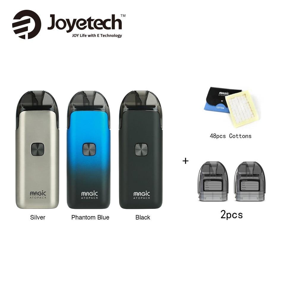 US $27.83 10% OFF Joyetech Atopack Magic Starter Kit 1300mAh Built in Battery & 2pcs Pod Cartridge 7ml & 100% Organic Cotton 48pcs Vape vs ego AIO-in Electronic Cigarette Kits from Consumer Electronics on Aliexpress.com   Alibaba Group