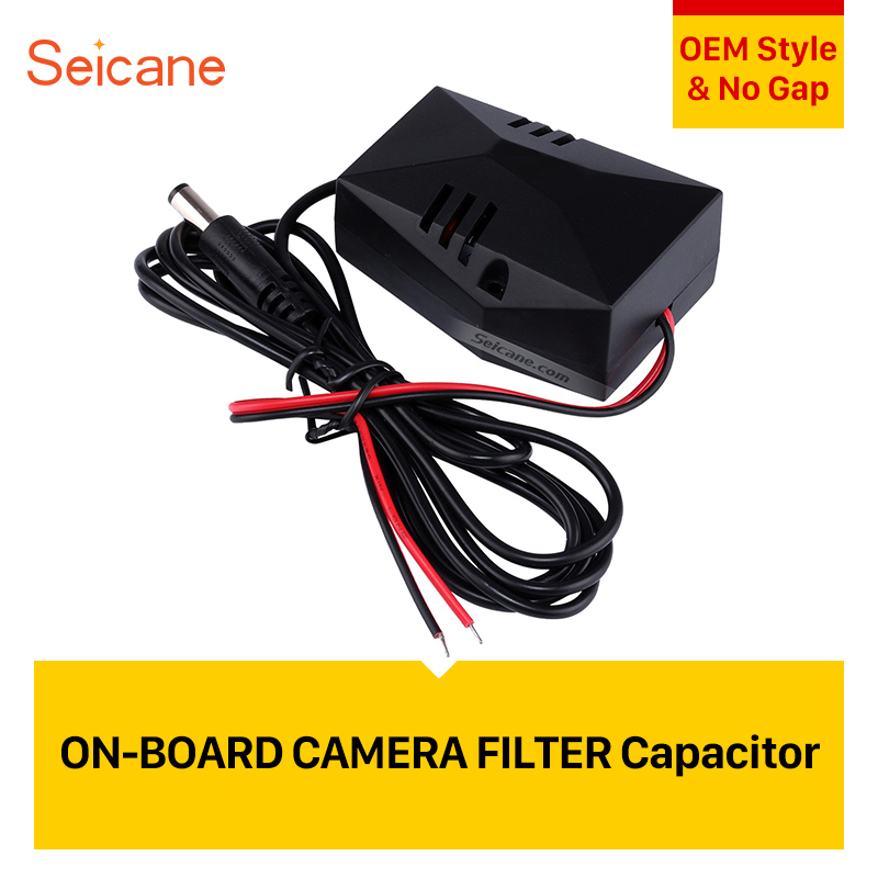 Seicane Car Backup Rearview Video Power Wire Harness