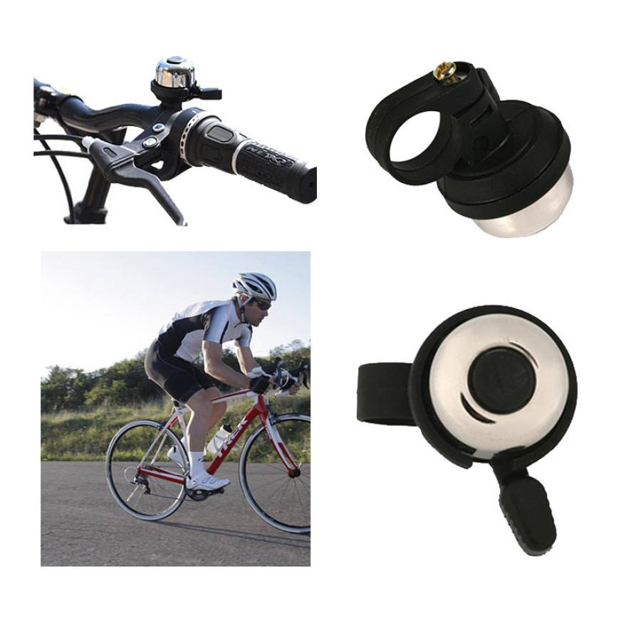 For Safety Cycling Bicycle Handlebar Ring Black Bike Mini Bell Horn Sound Alarm