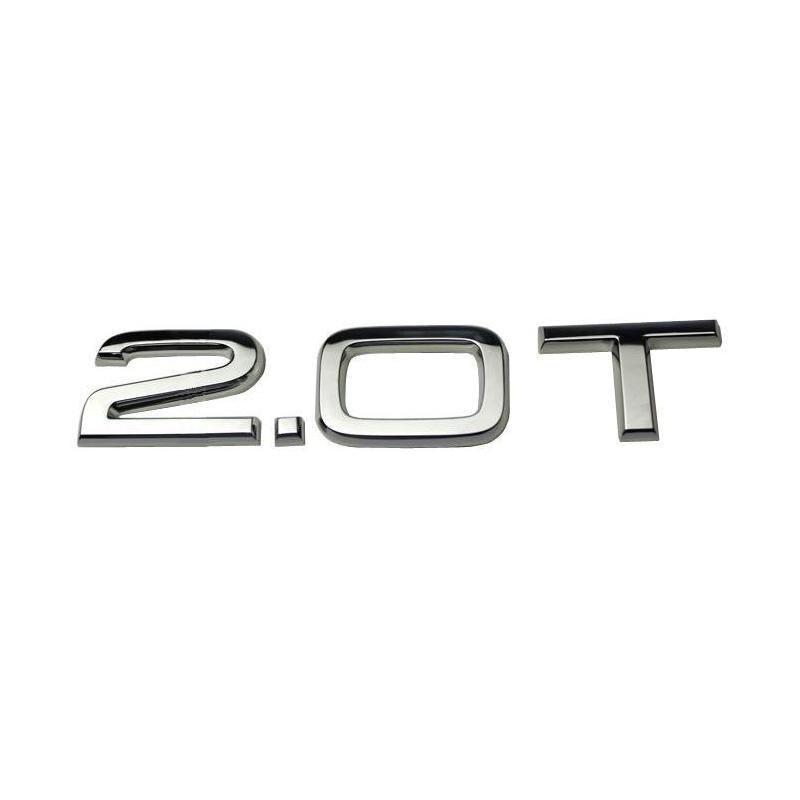 Coût de la livraison gratuite ABS 2.0T Badge Emblem Logo