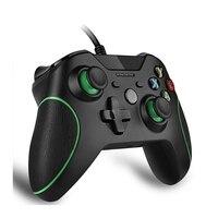 Wired בקר עבור Microsoft Xbox אחת בקר Gamepad ג 'ויסטיק USB Controle עבור Windows PC