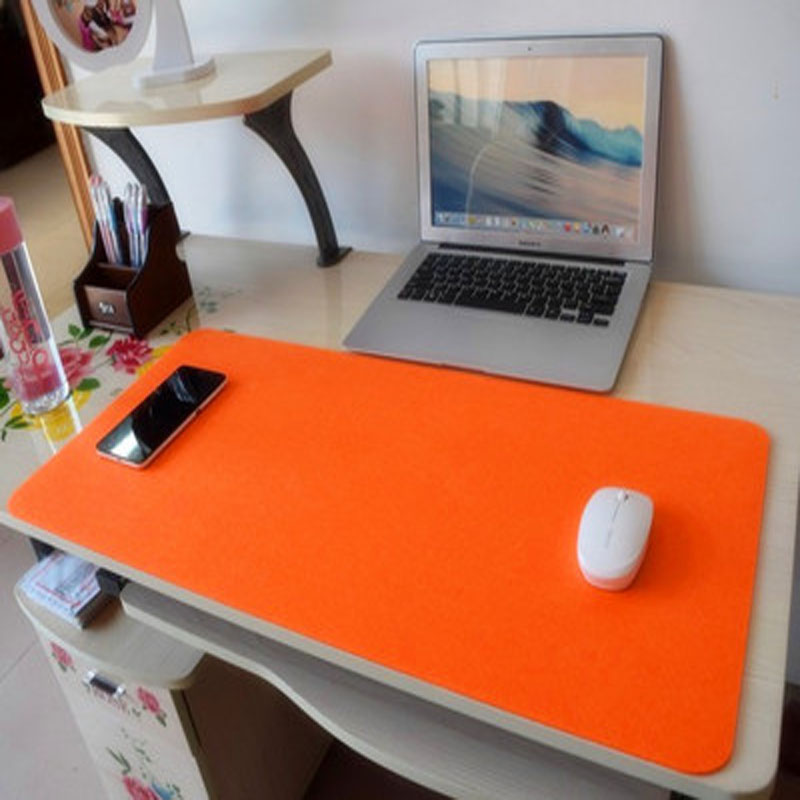 2016 New Wool Felt Huge Extra Xl Large Size Gaming Mouse Pad Locked 67x33cm Thickening Office Desk Mat Doily In Pads From Computer On