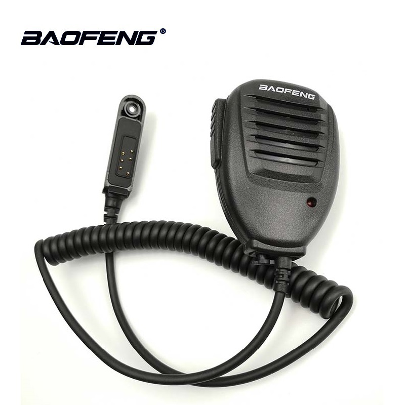 1/2/5pcs Original Baofeng UV-9R Waterproof PTT Speaker Mic Microphone For Baofeng UV 9R A58 UV-XR GT-3WP UV-5R WP Retevis RT6