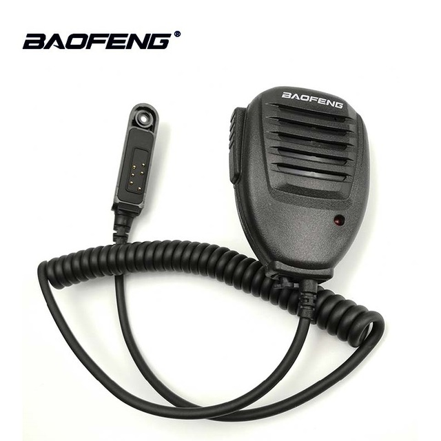 1/2/5pcs originale Baofeng UV 9R impermeabile PTT altoparlante Mic microfono per Baofeng UV 9R A58 UV XR GT 3WP WP Retevis RT6