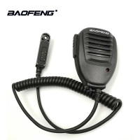 baofeng uv 1pc / 2pcs מקורי Baofeng UV-9R Waterproof PTT רמקול מיקרופון מיקרופון Baofeng UV 9R A58 UV-XR GT-3WP UV-5R WP Retevis RT6 (1)