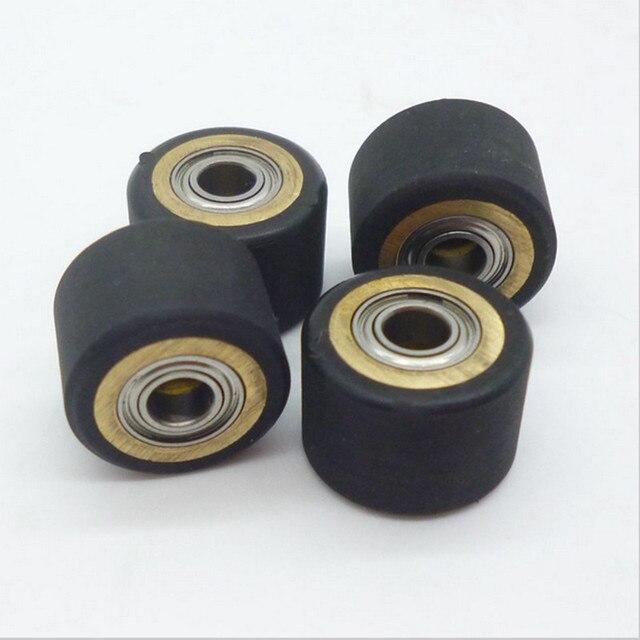 4pc 4x10x14mm Vinyl Cutter Copper Core Pinch Roller