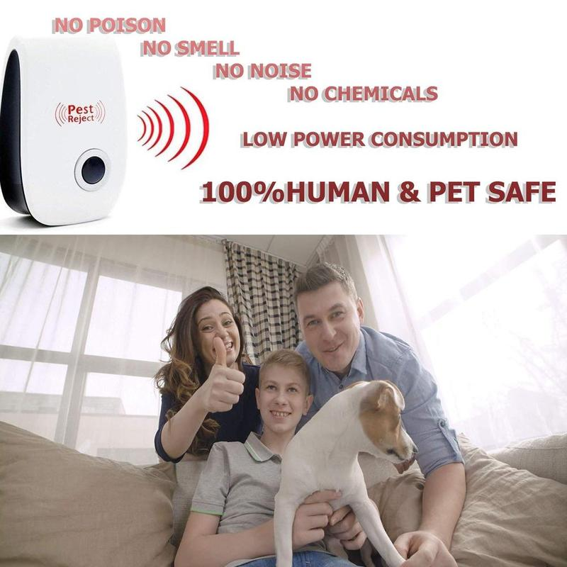 Image 5 - Multi purpose Electronic Ultrasonic Mosquito Killer Reject Bug Mosquito Cockroach Mouse Pest Reject Magnetic Killer Repeller-in Repellents from Home & Garden