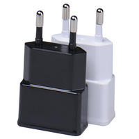 EU Plug 5V 2A AC USB Charger Wall Power Adapter for ipad iPhone Samsung HTC Cell Phones Portable Universal Travel Wall Charger