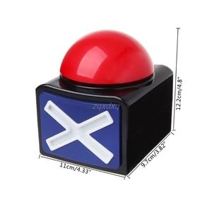 Image 5 - Botón de alarma del zumbador de la respuesta del juego con la luz de sonido Trivia Quiz Got Talent Buzzer venta al por mayor y Dropship
