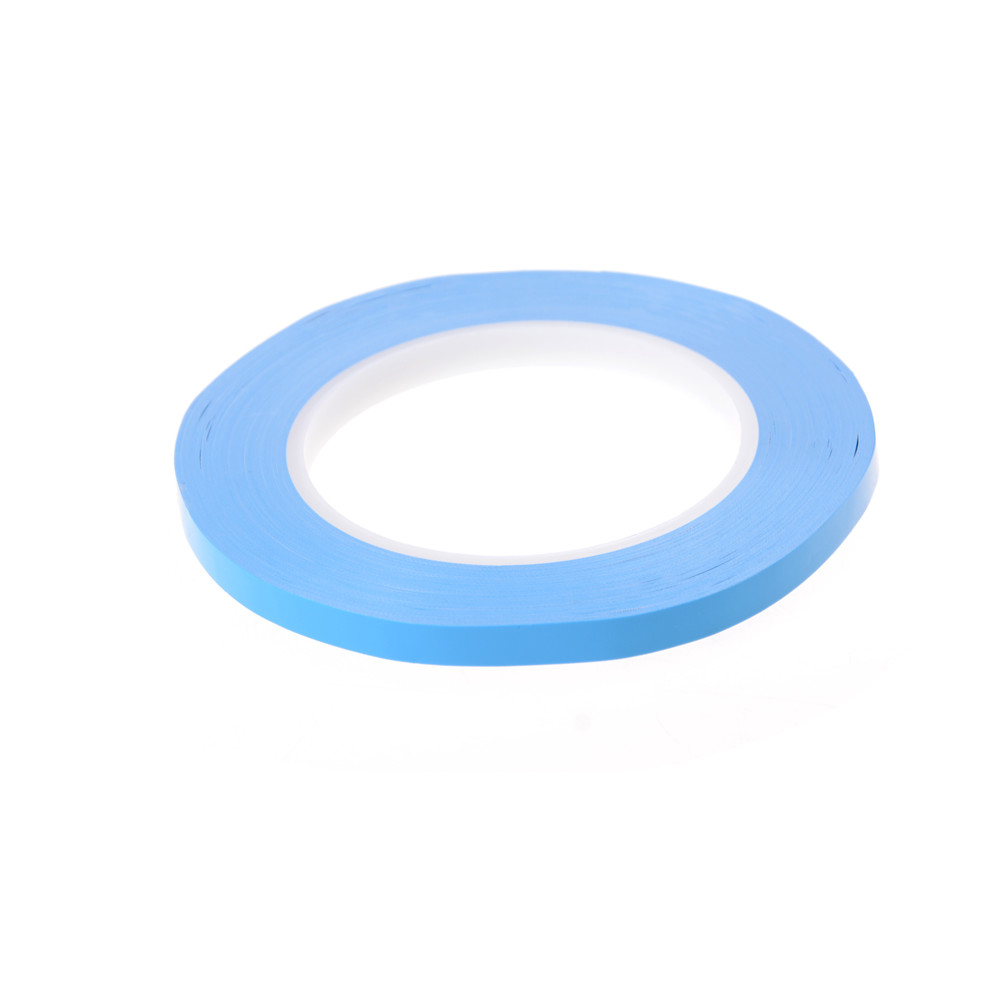 1roll 8mm 25m 0 2mm Thermal Dissipation Adhesive Tape Blue