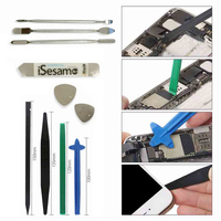 PHONEFIX DIY Phone disassembly repair tool set LCD screen pry opening kit Metal pry stick Spudgers Triangle pry blades Crowbar|Hand Tool Sets| |  -