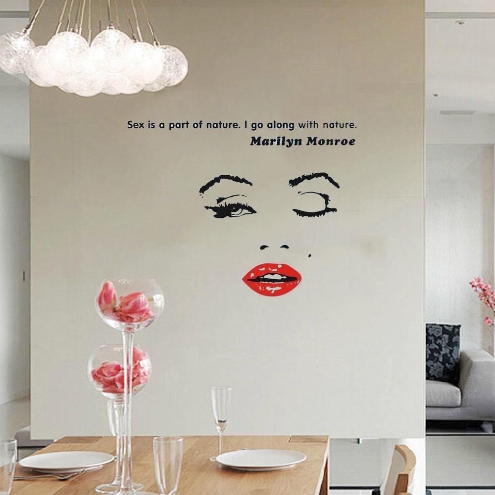 Bathroom Design Quotes online buy wholesale marilyn monroe bathroom decor from china