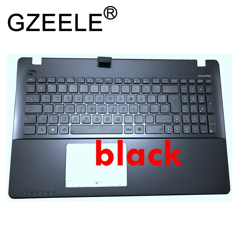 New laptop Palmrest Upper <font><b>cover</b></font> for <font><b>ASUS</b></font> X550C K550 A550C A550VB Y581C <font><b>X550</b></font> K550JK FX50J Y581CL X552W W50J US UI <font><b>keyboard</b></font> image