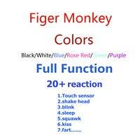 Finger Monkey Interactive Smart Baby Monkey Electronic Pet Toys Christmas Gift For Children Finger Baby Monkey