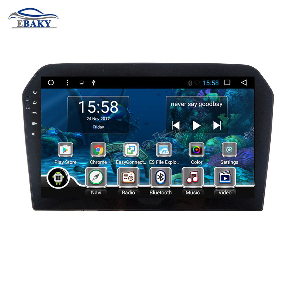 Sale NaviTopia 9inch Octa Core Android 7.1 8.1 Car DVD GPS Navigation for VW JETTA 2013 2014 2015 2016 Auto Multimedia Radio Stereo 2