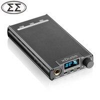 Новый XDuoo XD 05 Портативный Аудио гарнитура DAC AMP 32bit/384 кГц нативный DSD декодирования с OLED Дисплей
