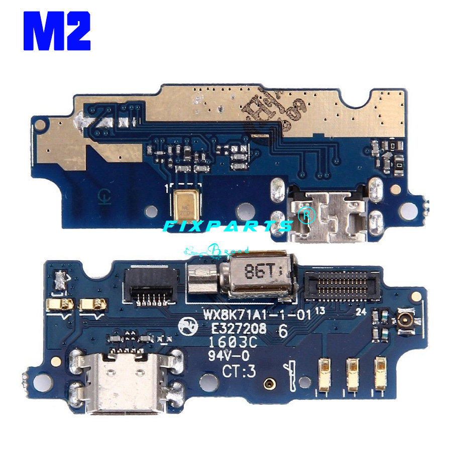 Meizu M1 M2 M3 M5 M6 Note U10 M3S Dock Port USB Charging Dock Charger Connector Plug Board Flex Cable Replacement Repair Parts (9)
