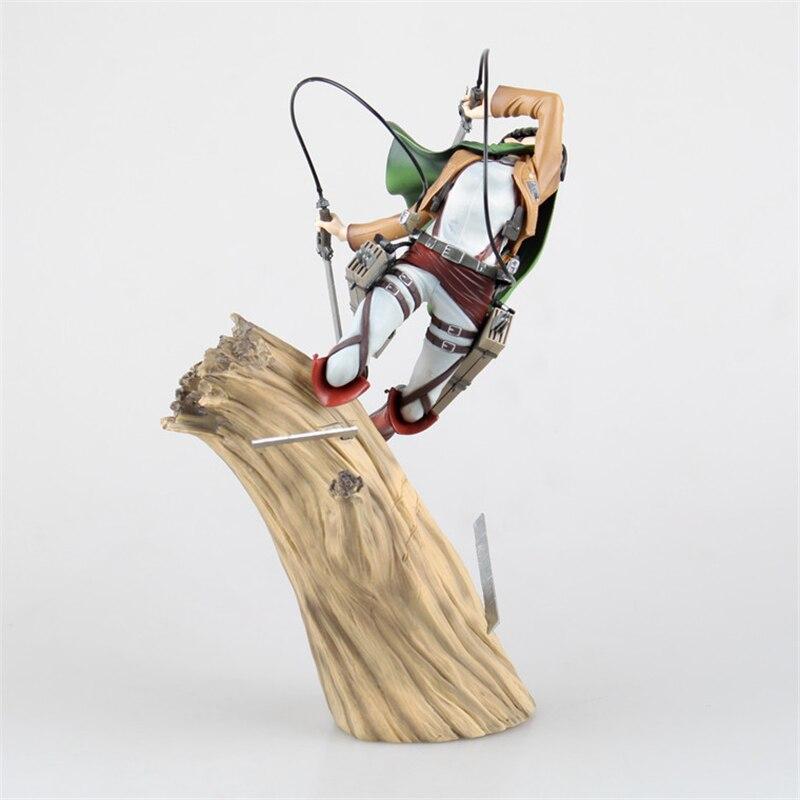 Attaque sur le Titan Levi Ackerman Rivaille bataille Ver. Figurine EN PVC Brinquedos Enfants Jouets DanimeAttaque sur le Titan Levi Ackerman Rivaille bataille Ver. Figurine EN PVC Brinquedos Enfants Jouets Danime