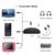 Askmeer Transmisor y Receptor de Audio Inalámbrico Bluetooth A2DP Adaptador de Audio Portátil Reproductor de 3.5mm AUX-IN para Smartphone Mp3 PC TV