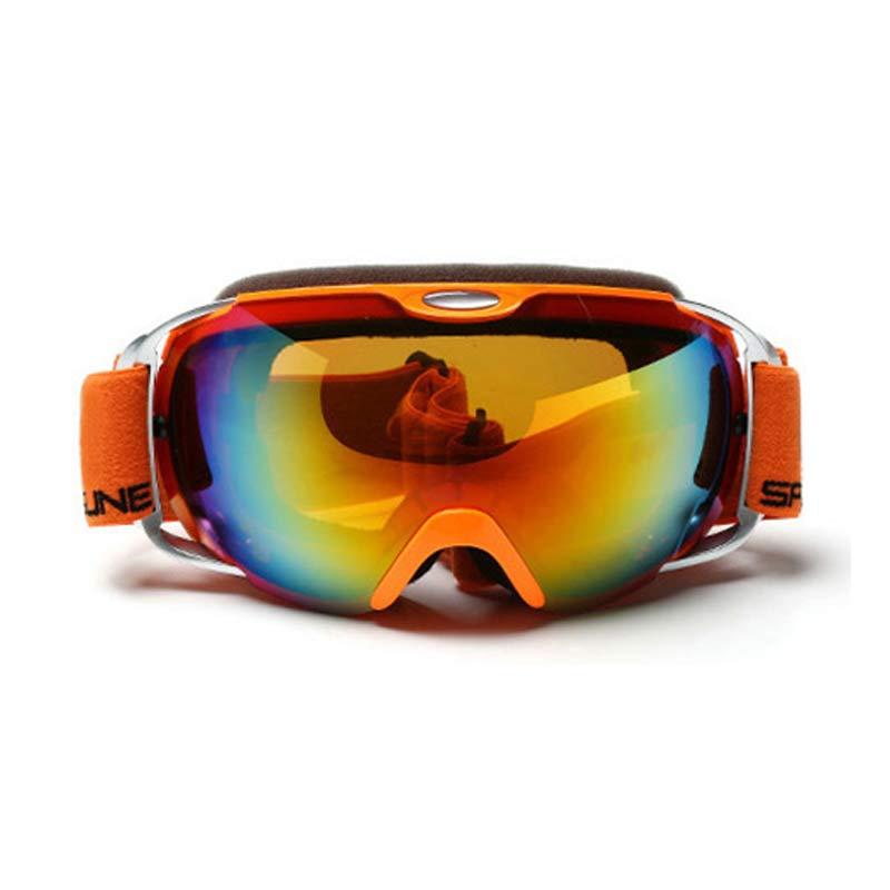 Robesbon Uv400 Skiing Eyewear Snow Ski Goggles Anti-fog Waterproof Ski Glasses Women Spherical Lens Skiing Eyewear Sport Glasses