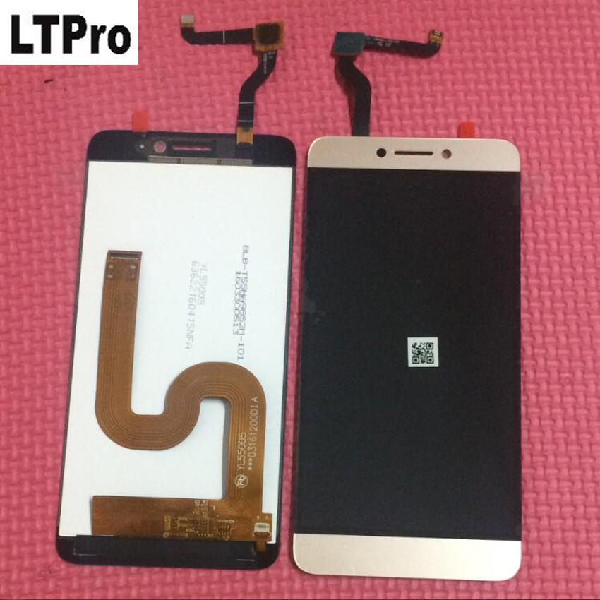 LTPro Original new Tested LCD Display Touch Screen Digitizer Assembly For Letv Le LeEco Coolpad Cool 1 Cool1 Dual C106 Parts