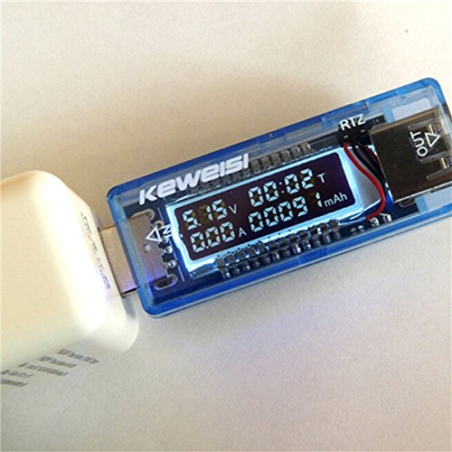 KEWEISI 3V-9V 0-3A USB Charger Power Battery Capacity Tester Voltage Current Meter high quality keweisi 3v to 9v 0a to 3a usb charger power battery capacity tester voltage current meter