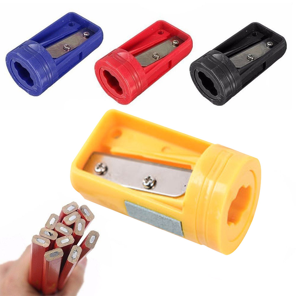Woodwork Carpenter Pencil Sharpener Cutter Shaver Narrow Sharpening Plastic HOT