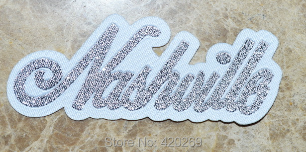 Hot Sall Nashville Tennessee Country Music City Iron On Patches