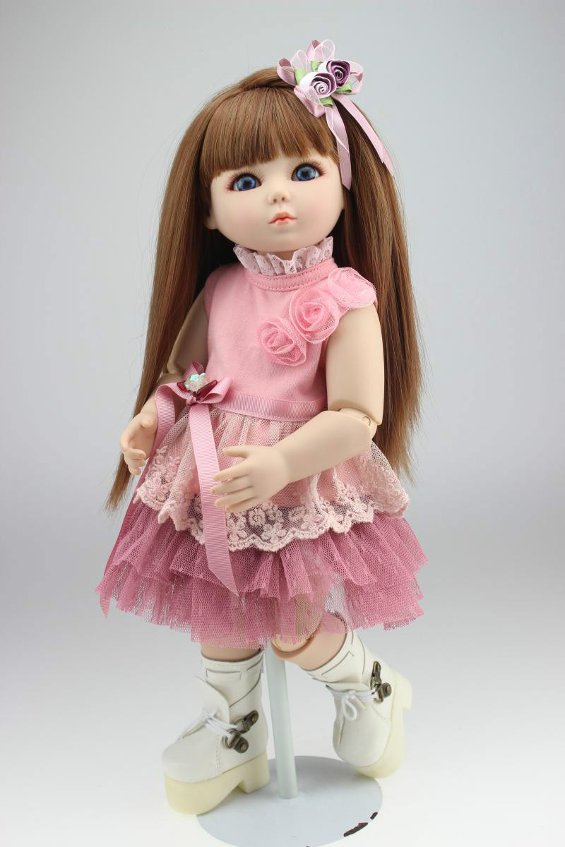 18 45cm Princess BJD/SD Girl Dolls Silicone Reborn Baby Doll Simulation Collective Bjd Doll for Kid Birthday Gifts18 45cm Princess BJD/SD Girl Dolls Silicone Reborn Baby Doll Simulation Collective Bjd Doll for Kid Birthday Gifts