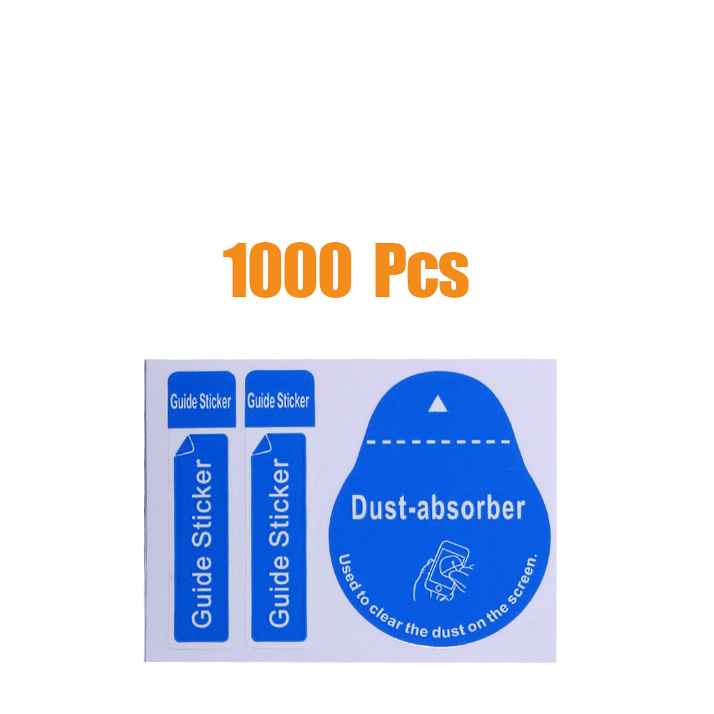 1000 PCS for Camera Lens Optical LCD Screen Cleaner iPhone 8 7 6 6s Removal Paper Dust Absorber Sticker Wholesale